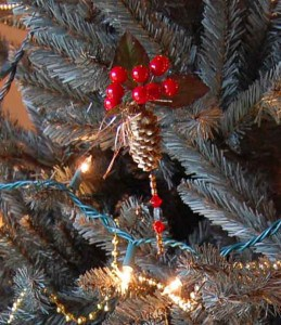 Pinecone Christmas Ornament