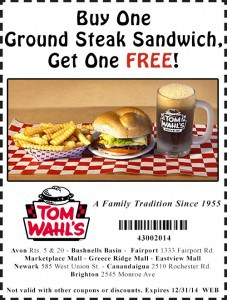 New Tom Wahls Coupons! – Expire 12/31/14