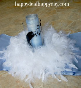 """Be You Bravely"" MOPS Centerpiece Idea"