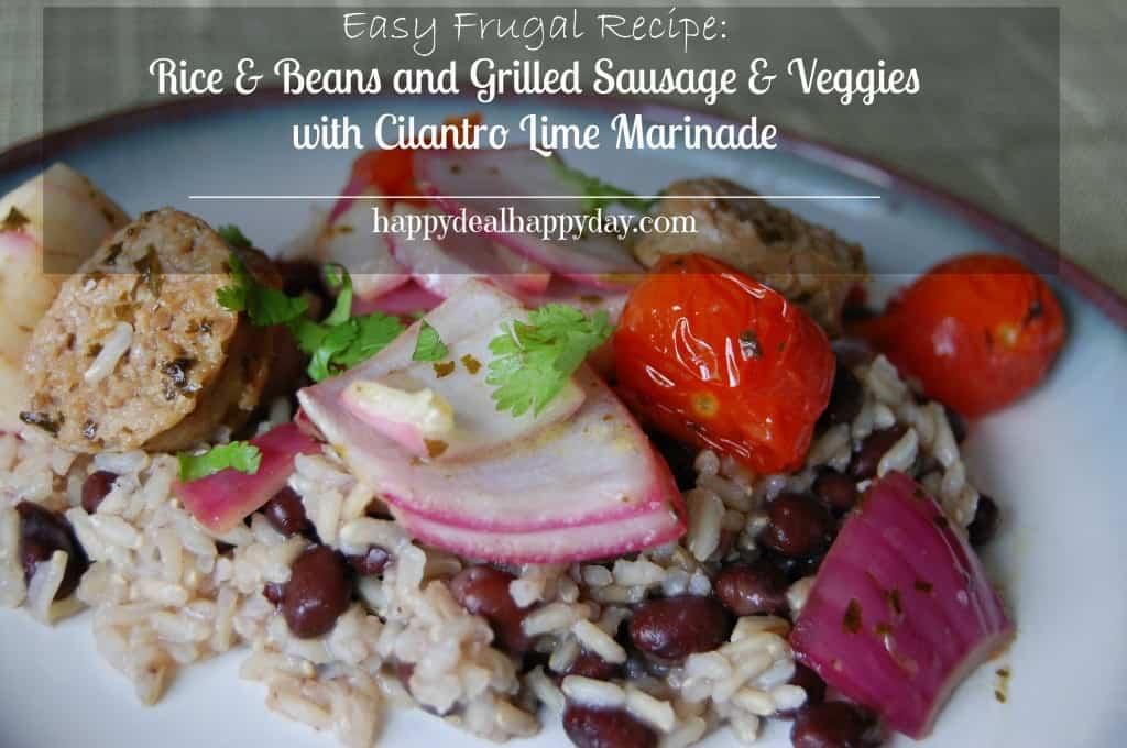 grilled sausage cilantro lime marinade