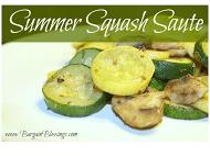 Recipes For the Garden Veggies | Summer Squash Recipe