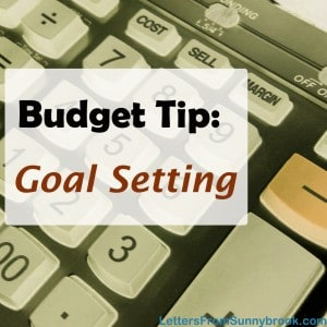30 Day Budget Bootcamp:  Let Your Goals Drive Your Budget