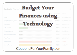 30 Day Budget Bootcamp:  Budget Your Finances Using Technology