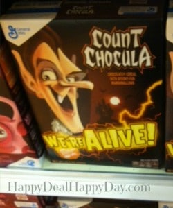 cereal marketing strategies:  count chocula