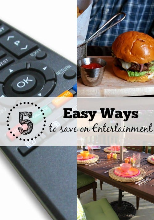 30 Day Budget Bootcamp:  5 Easy Ways to Save on Entertainment