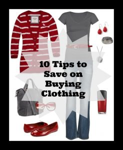 20 Day Budget Bootcamp:  Day #15 – 10 Tips on How To Save Money On Clothes