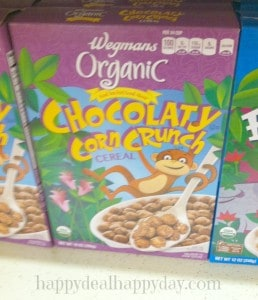 Cereal Marketing Strategies:  wegmans organic cereal