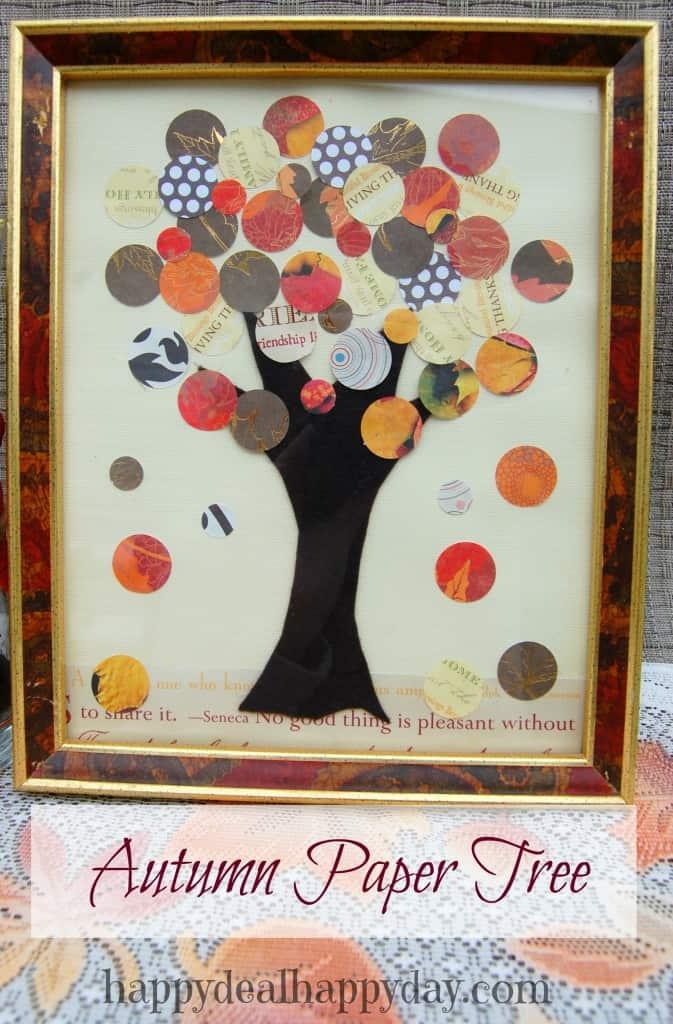autumn paper tree 2