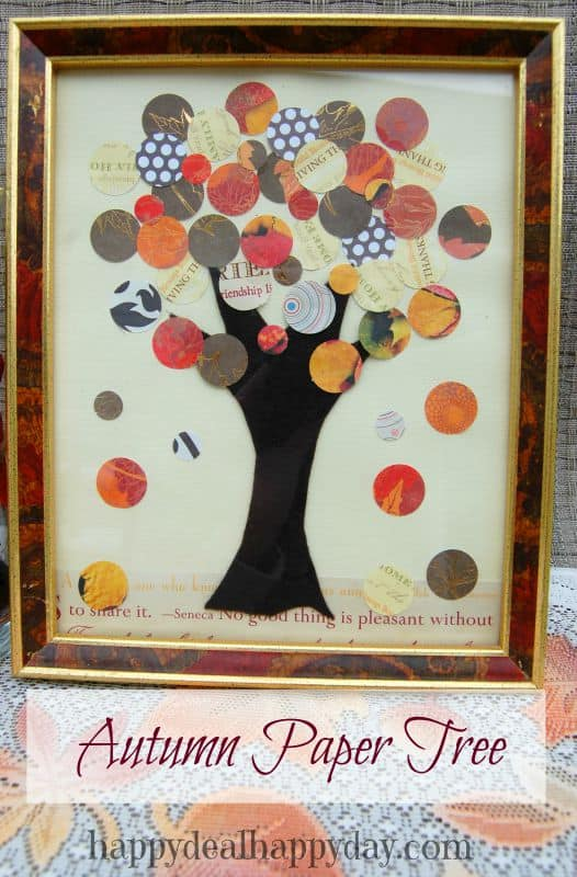 autumn paper tree 2