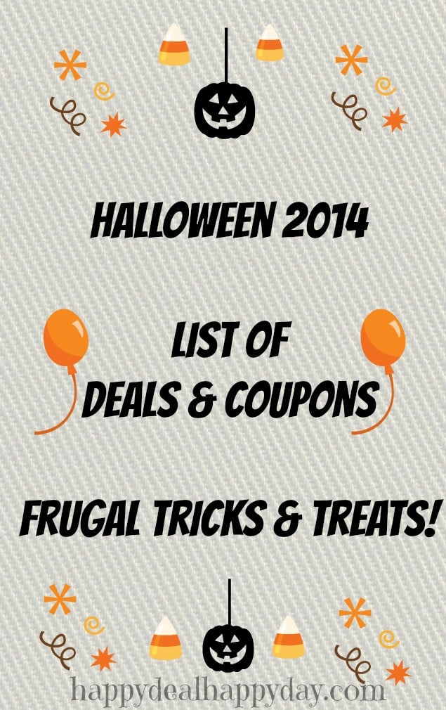 halloween deals list