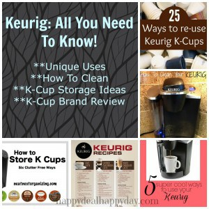 Merveilleux Keurig: All You Need To Know   Unique Uses, How To Clean, K Cup Storage  Ideas And K Cup Brand Review! | Happy Deal   Happy Day!
