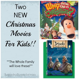 Two Christmas Movies for Kids | Iesado Joy & Why Do We Call It Christmas DVDs