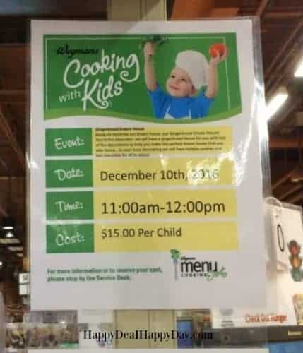 Wegmans Cooking With Kids–Gingerbread Dream House