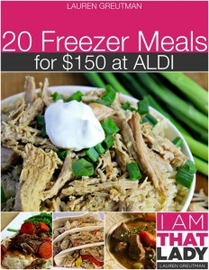 aldi freezer cooking 2