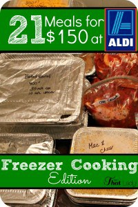 aldi freezer cooking
