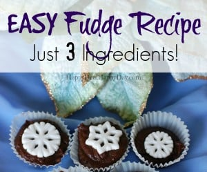 easy fudge horizontal