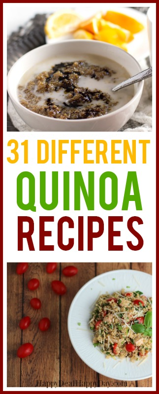 Easy & Healthy Quinoa Recipes
