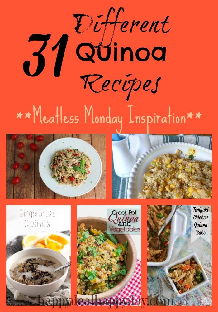 quinoa collage