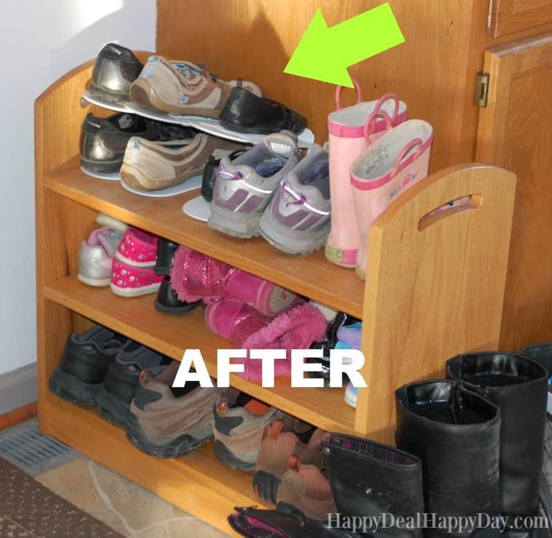 shoe slots after