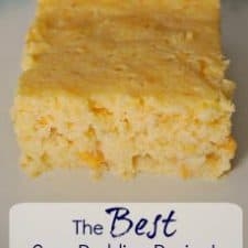 The Sweetest & BEST Corn Pudding Recipe!