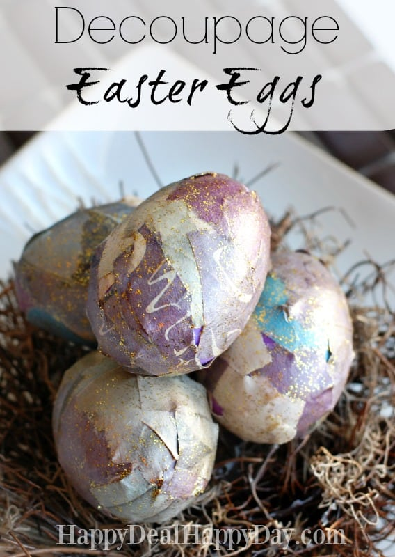 decoupage easter eggs 2