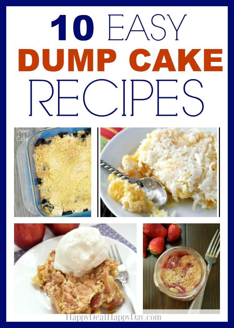 Dump Cake Using Pancake Mix