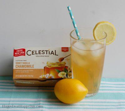 The BEST Iced Tea Recipe with honey vanilla camomile and lemonade