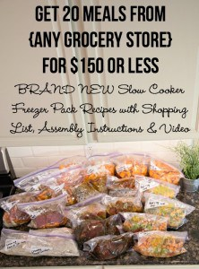 Meal Planning:  18 Options for Stores Including Aldi, Costco, Wegmans & Sam's Club!