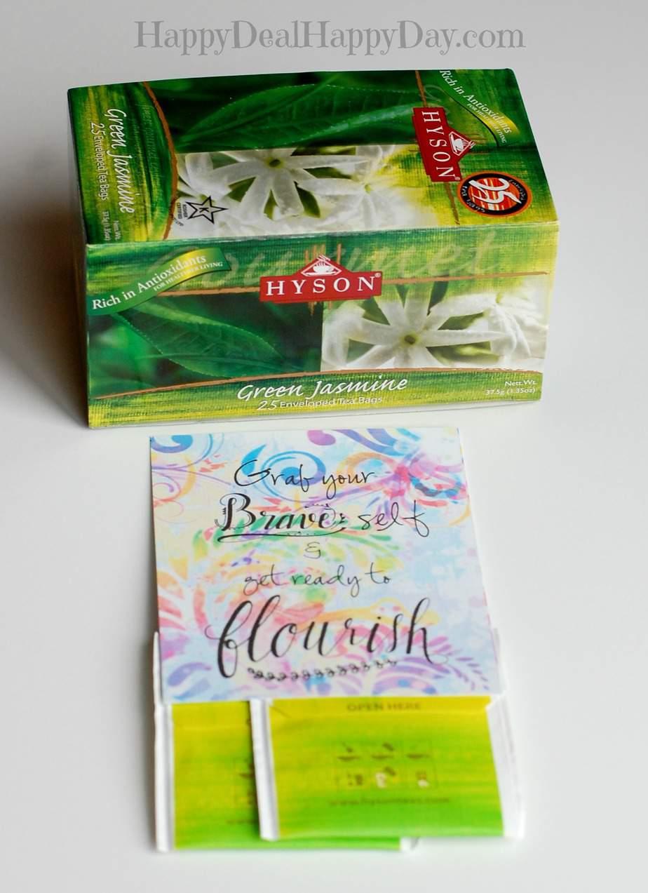 tea welcome gift