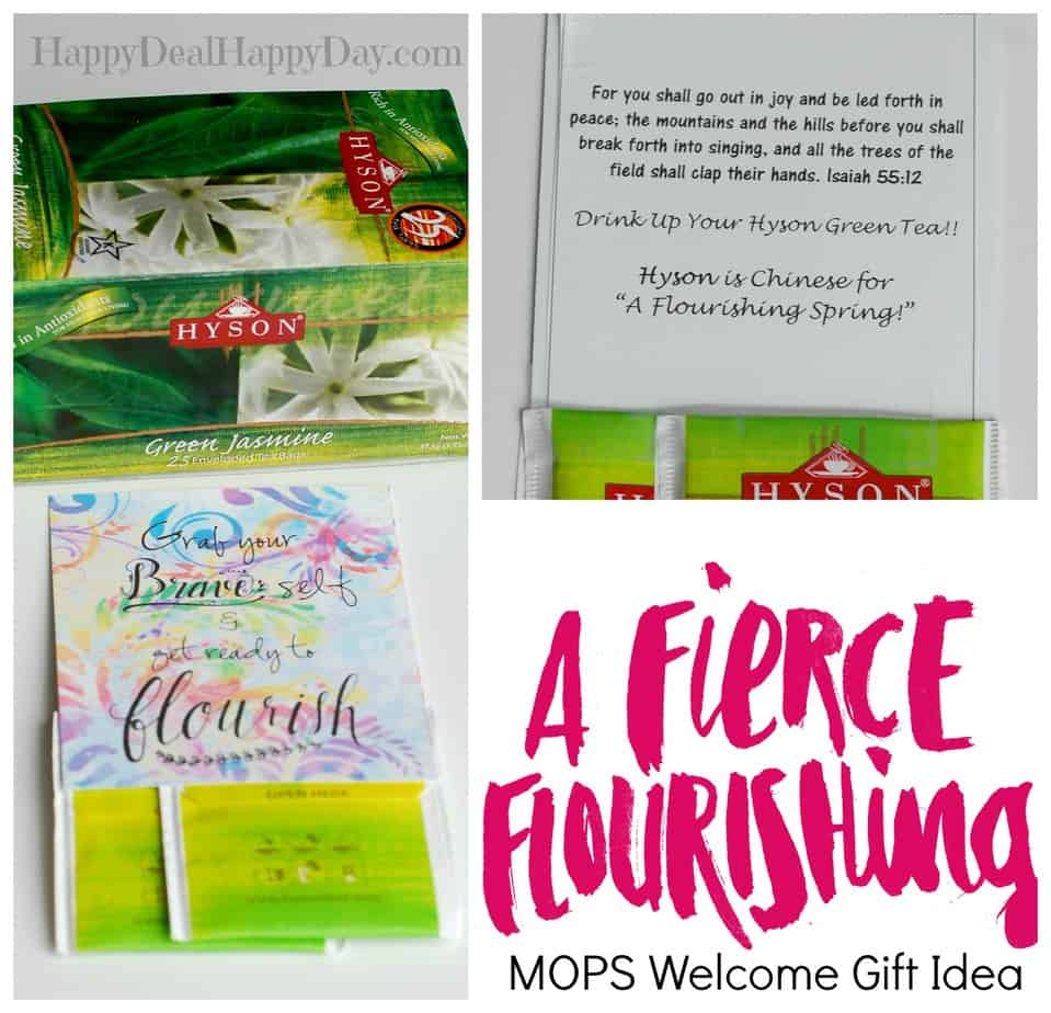 welcome gift collage