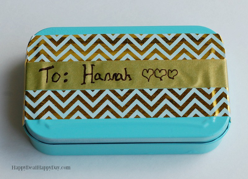 DIY Lunch Box Treat & Note Holder 8