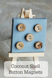 coconut shell button 3 text