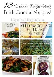 13 Recipes Using the Garden Veggies