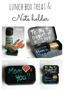 DIY Lunch Box Treat & Note Holder