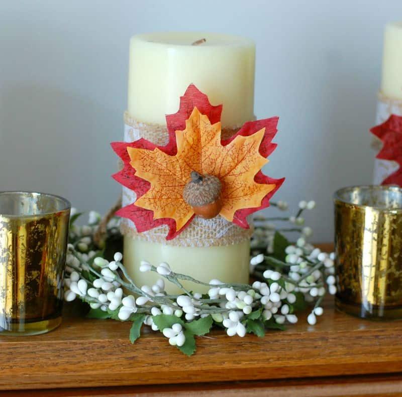 acorn candle resize