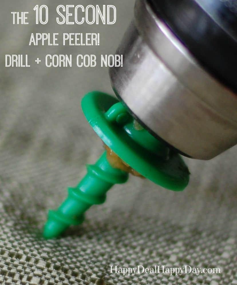 apple peeler corn cob nob