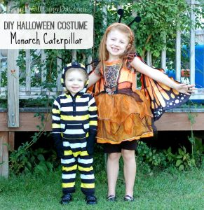 DIY Halloween Costumes | Monarch Caterpillar Costume