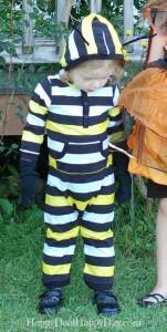 caterpillar costume upclose