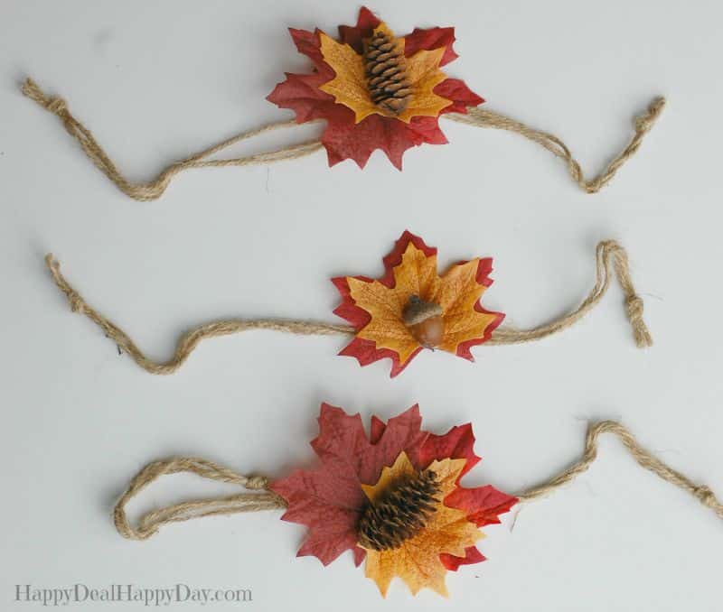 fall candle wraps; fall decorations; fall candle resize