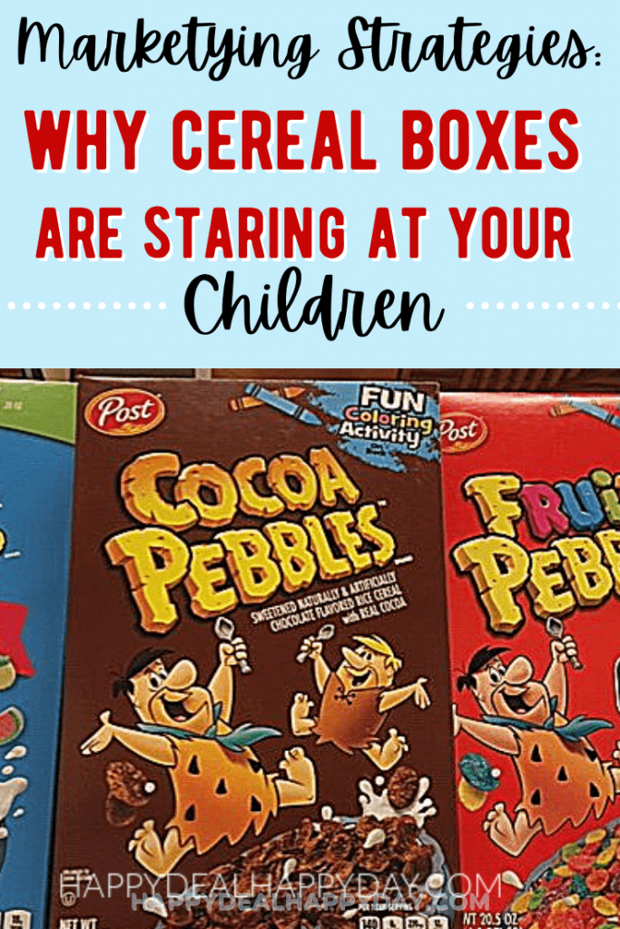 marketing strategies why cereal boxes are staring at your children