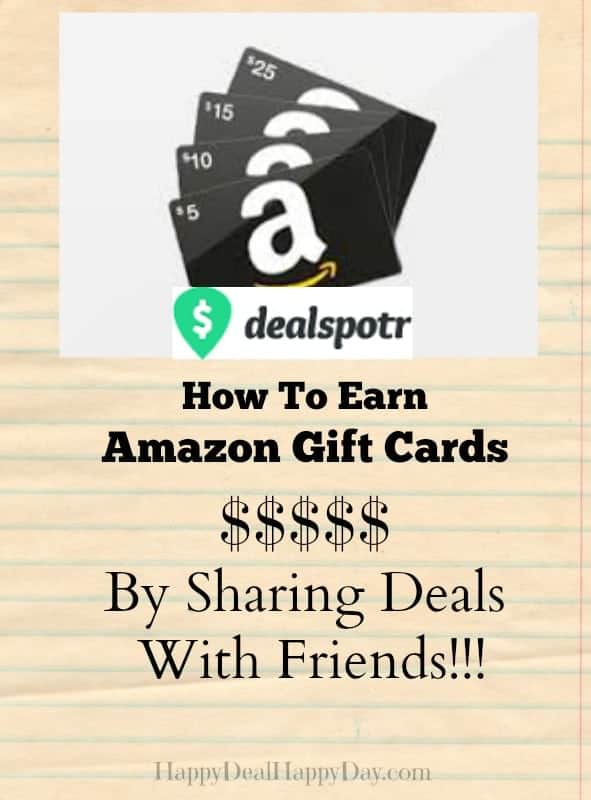 Dealspotr:  A New Deal Sharing Forum Where You Can EARN Amazon Gift Cards!