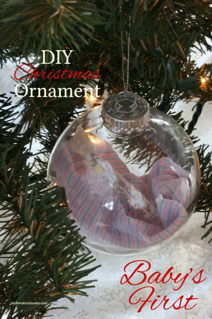 Baby S First Christmas Tree Decoration