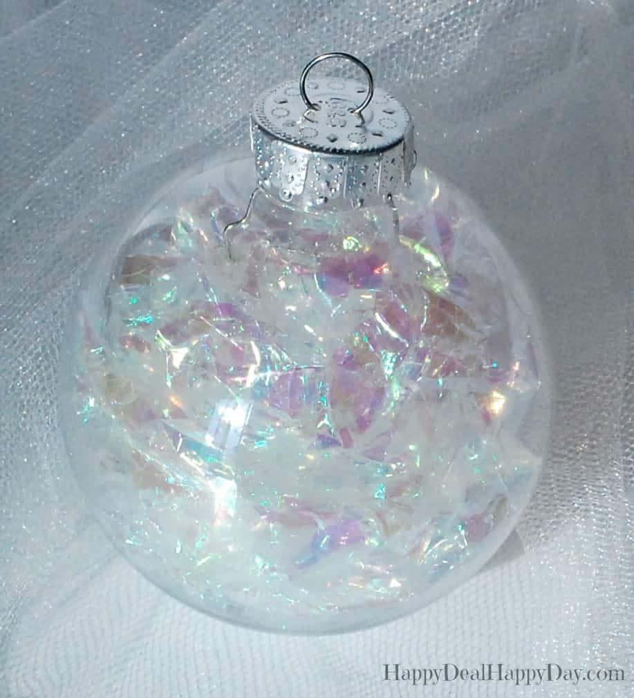 Clear Plastic Ornament Balls - 10 Cute Ways to Use Them ...
