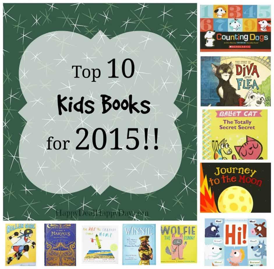 top 10 kids books 2015