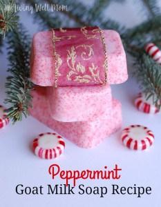 Peppermint Goat Milk Soap Recipe