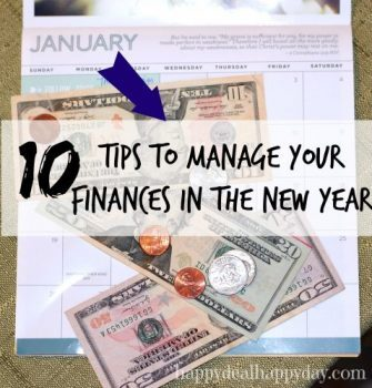 10 Tips to Manage Your Finances In The New Year
