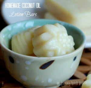 homemade coconut oil lotion bars 1st