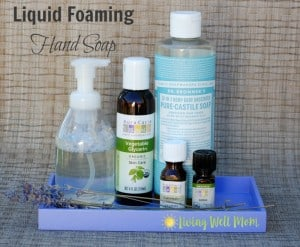 liquid foaming hand soap horizontal