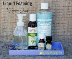 liquid foaming hand soap horizontal