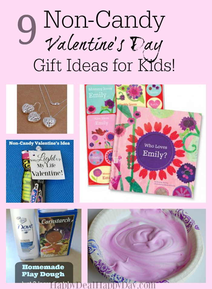 9 Non-Candy Valentine's Day Gift Ideas for Kids! I totally want to try #4 - my kids would LOVE it!
